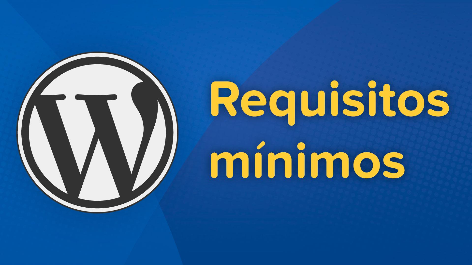 wordpress requisitos