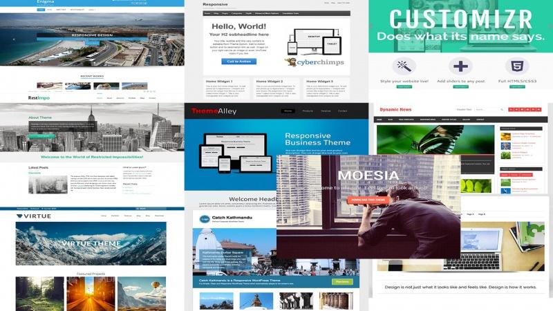 10 temas free gratis para wordpress mais populares