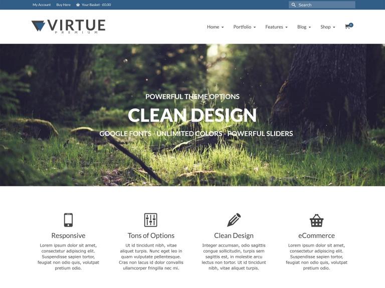 temas free virtue