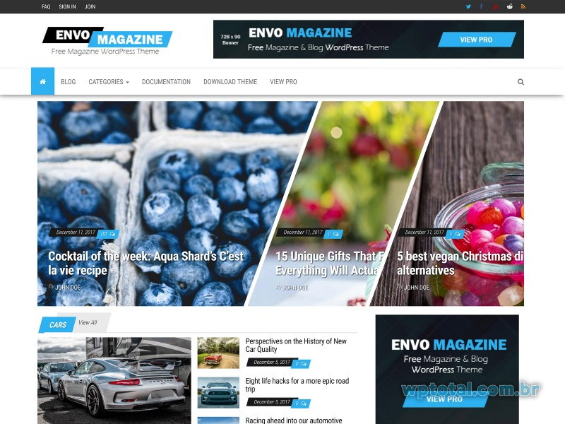 tema wordpress envo magazine
