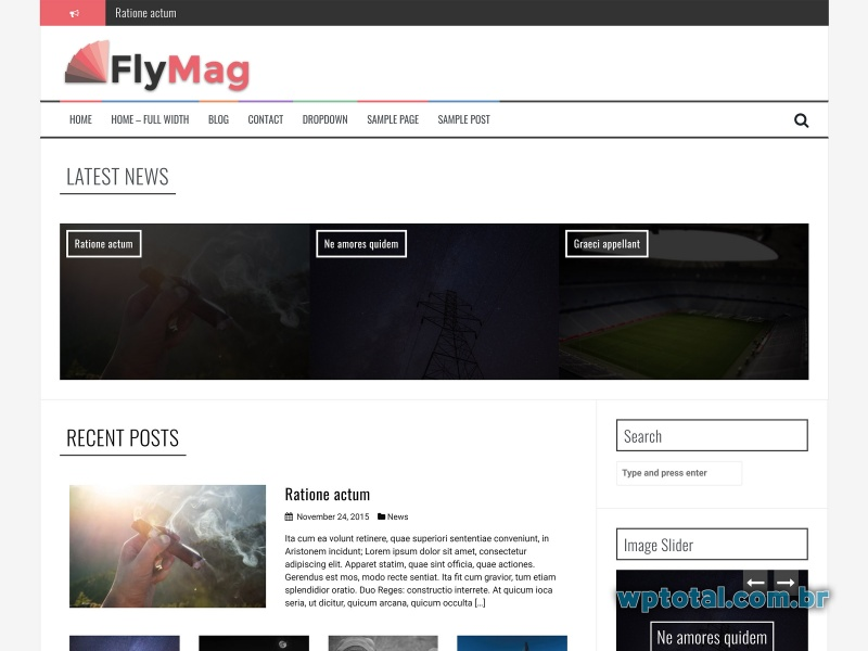 temas wordpress flymag