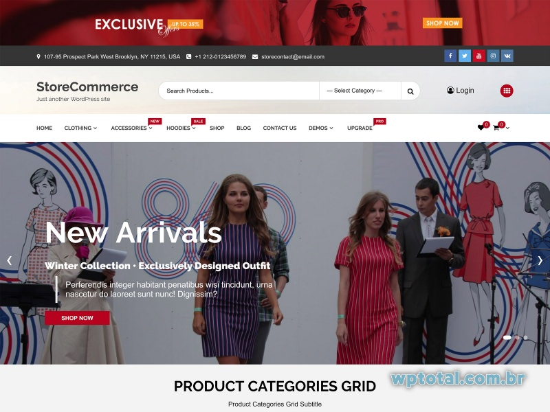 temas wordpress storecommerce