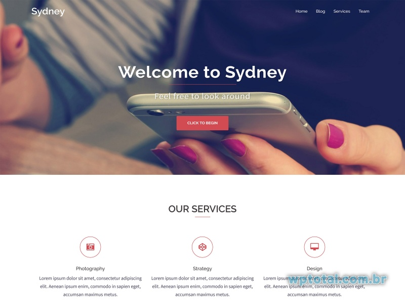 temas wordpress sydney