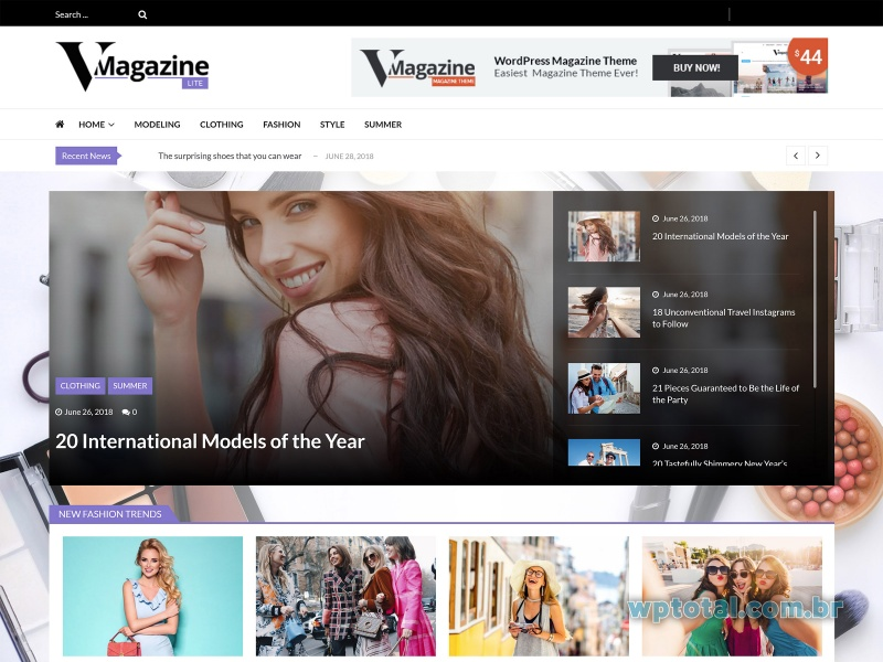 temas wordpress vmagazine lite
