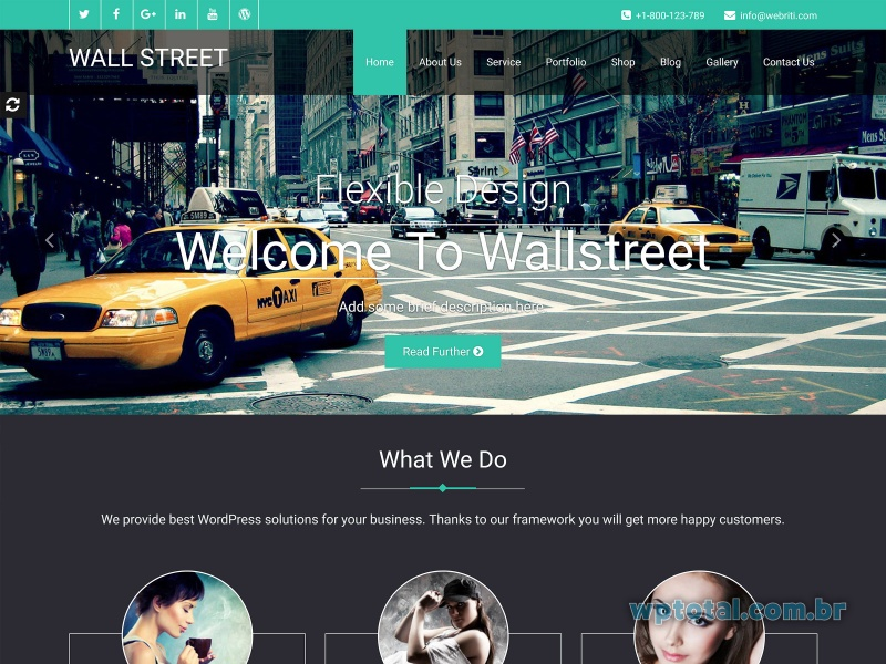 temas wordpress wallstreet