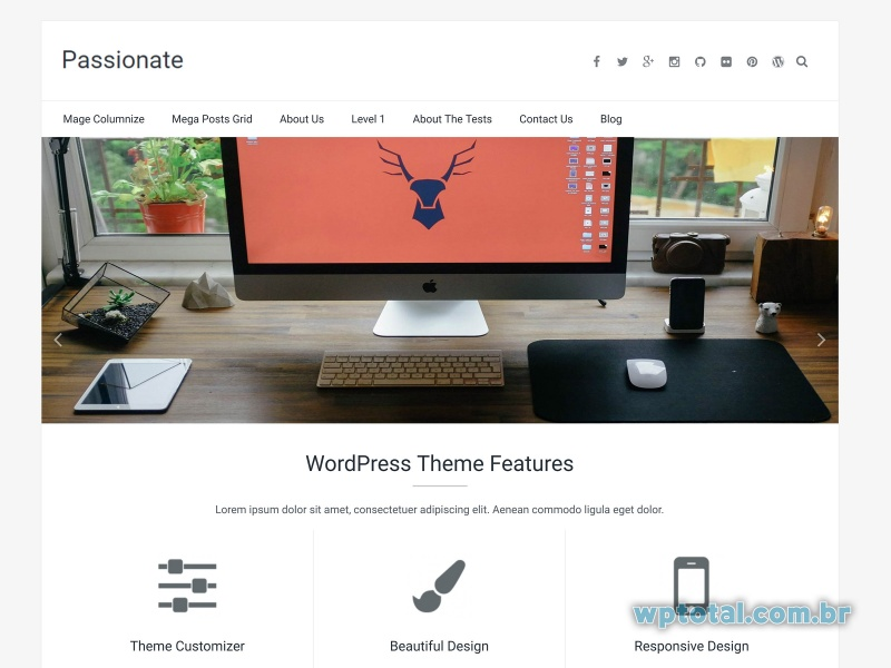 templates wordpress passionate
