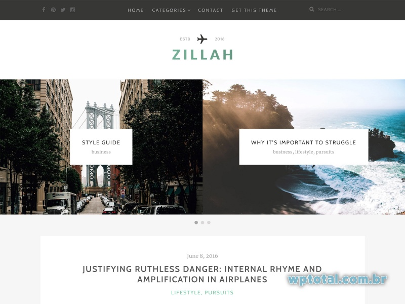 themes wordpress zillah