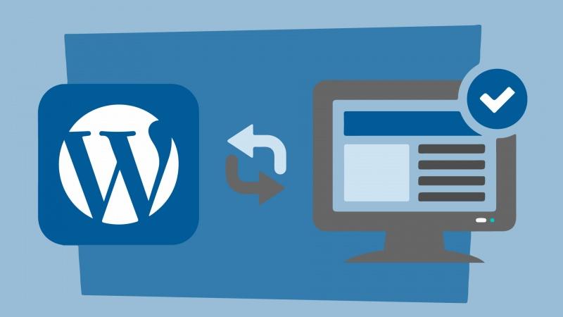 atualizar wordpress