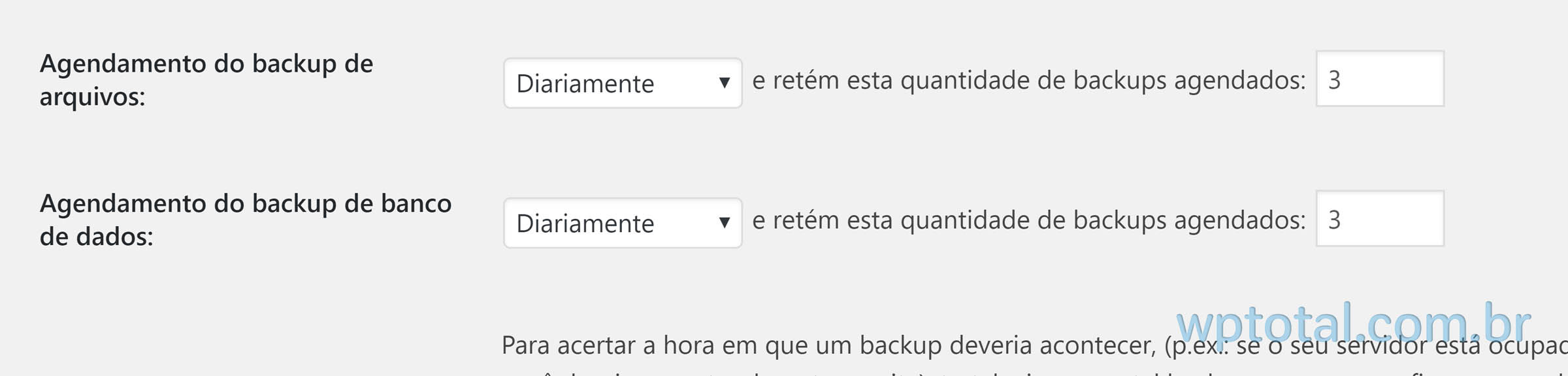 programando backup wordpress automatico para google drive