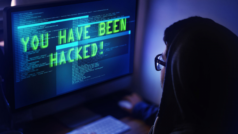 site hackeado