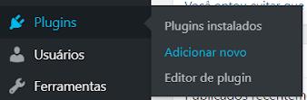 plugins adicionar novo