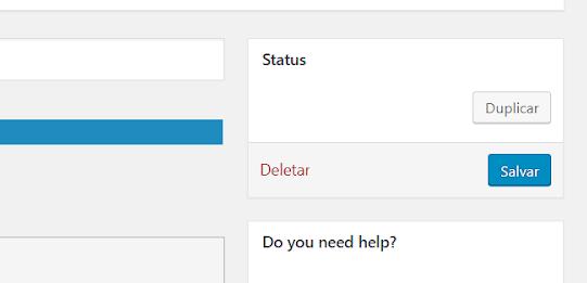 salvando formulário de contato