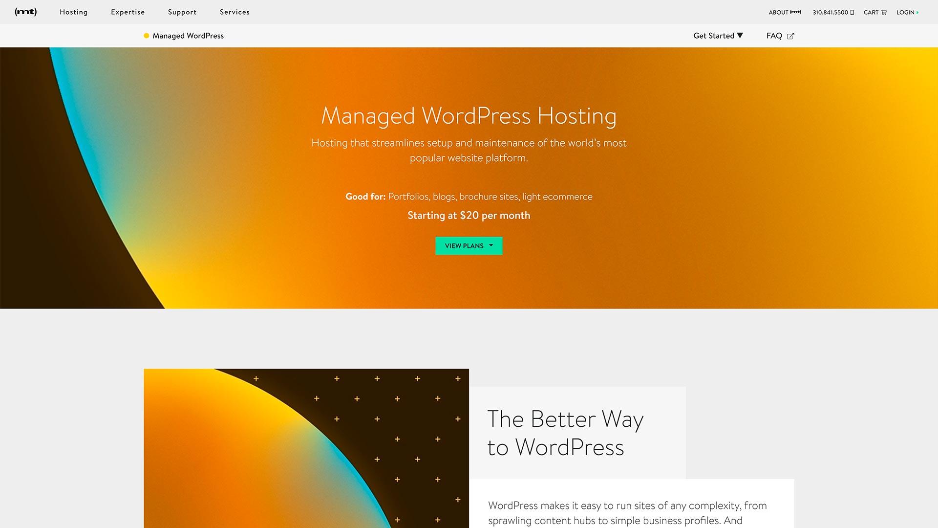 mediatemple hospedagem wordpress