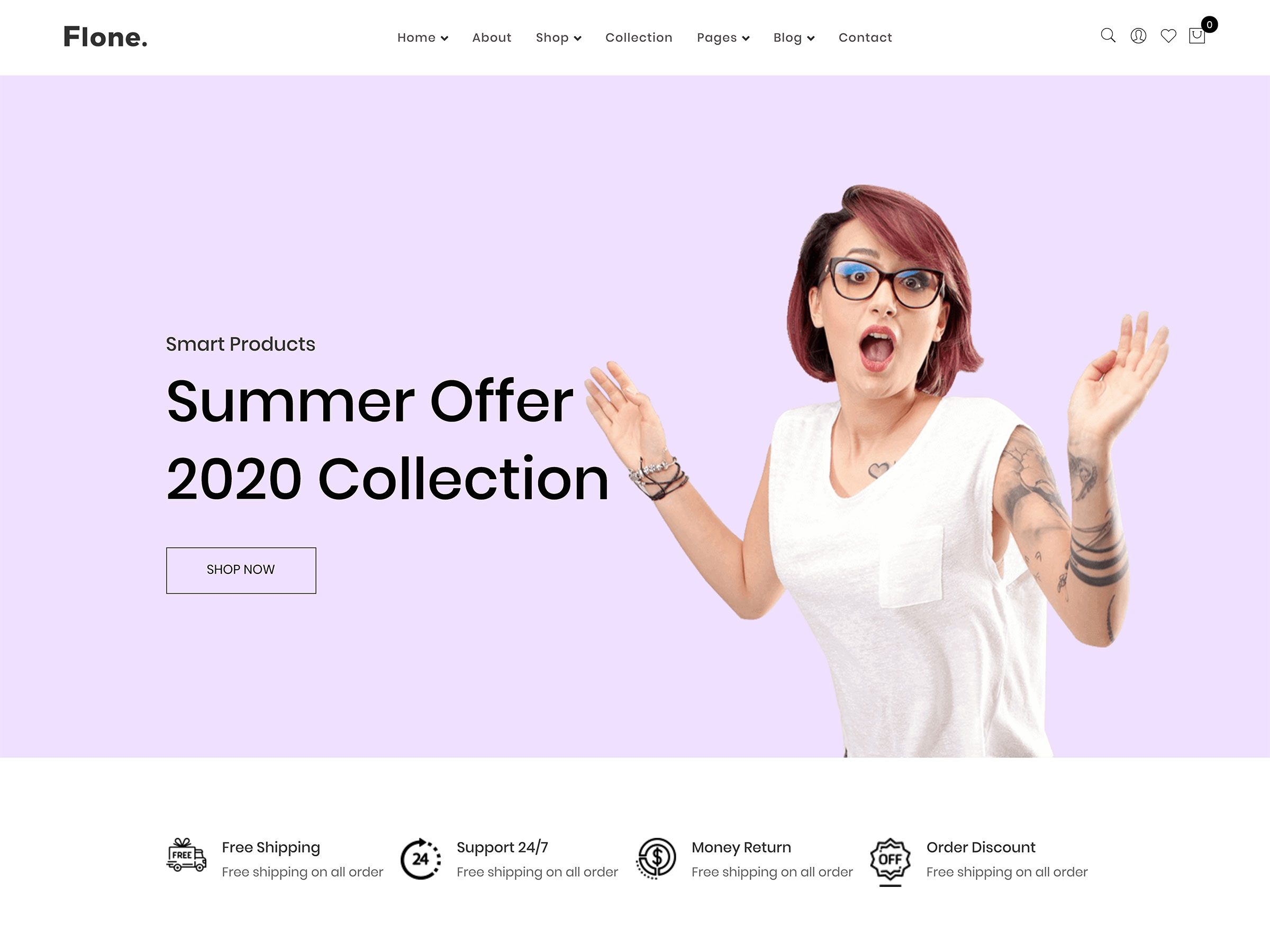 flone tema woocommerce wordpress