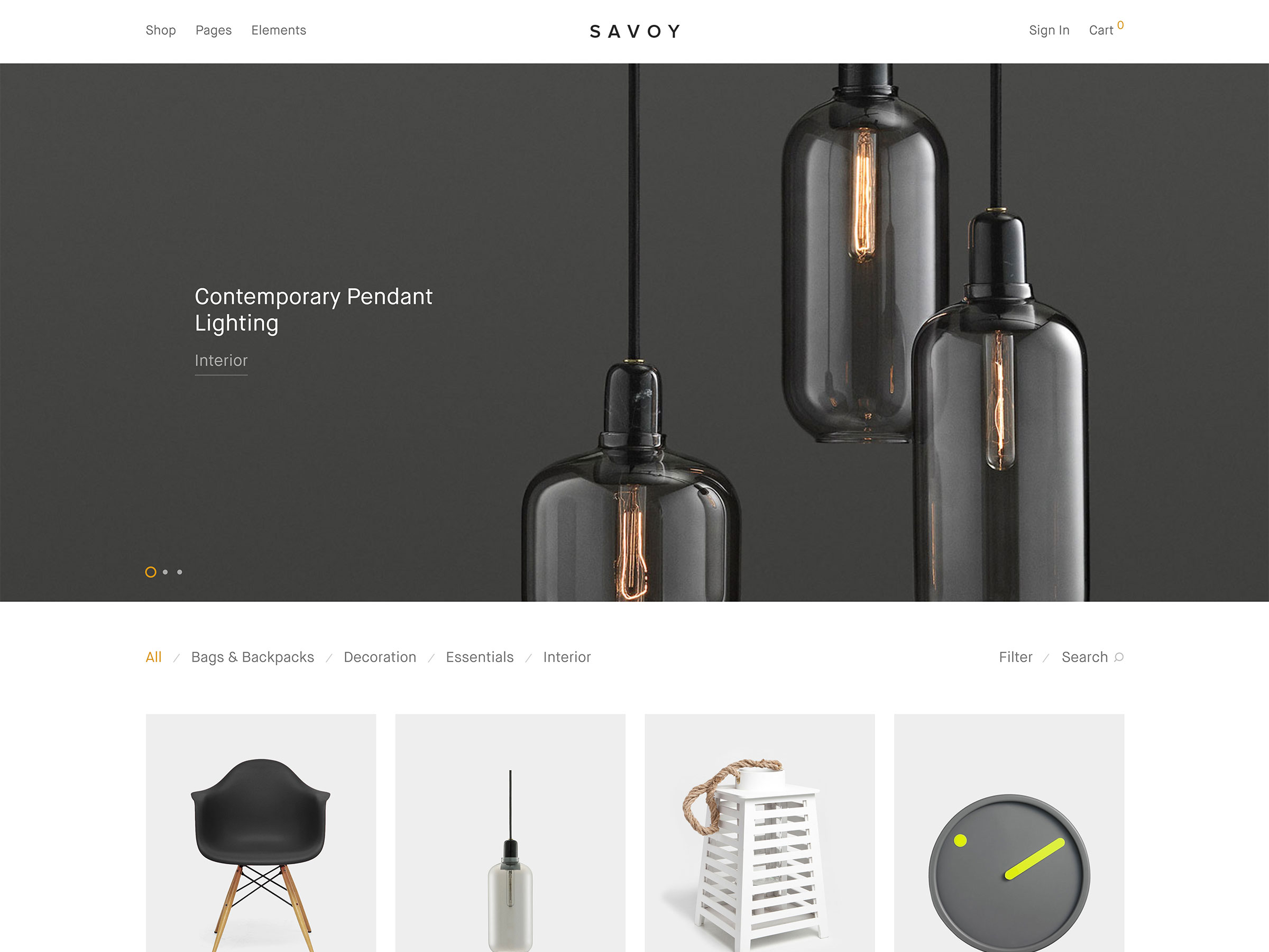 savoy tema woocommerce wordpress