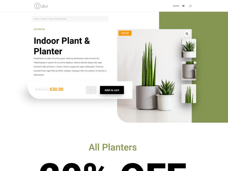 tema loja virtual wordpress divi