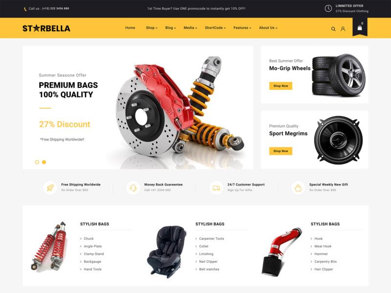 temas wordpress loja virtual starbella