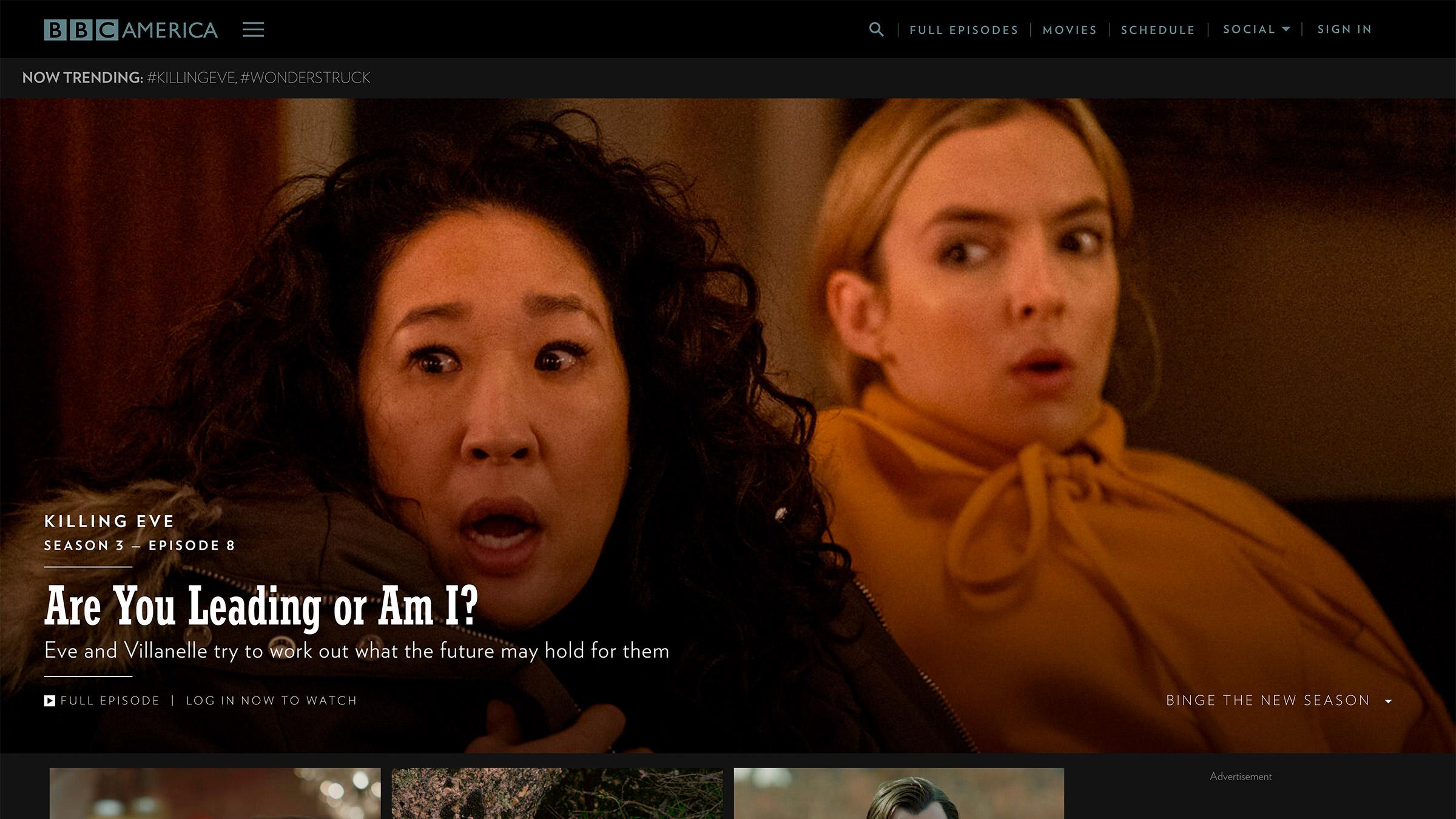 bbc america site construido com o wordpress