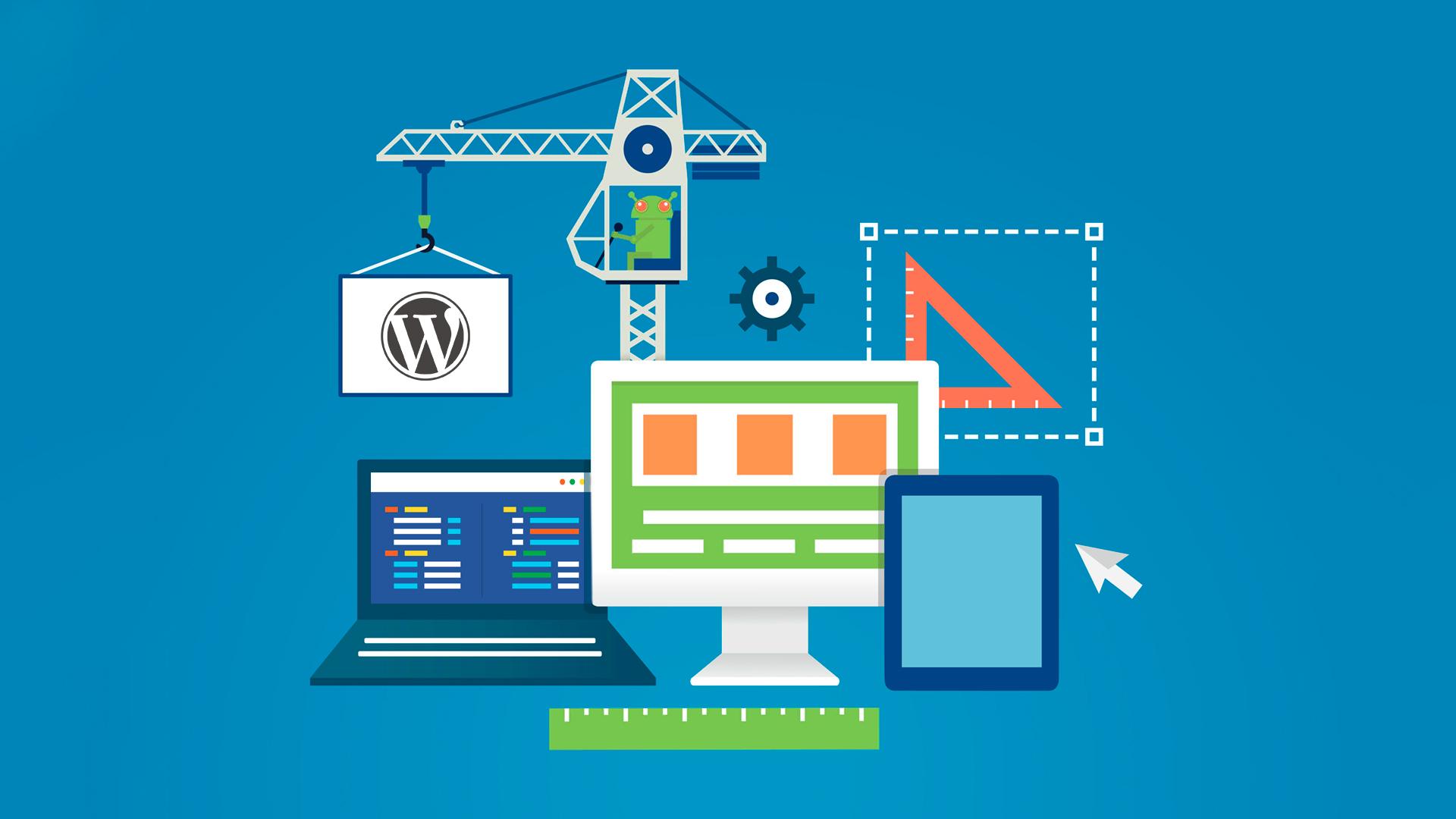 como saber se o site foi feito com wordpress