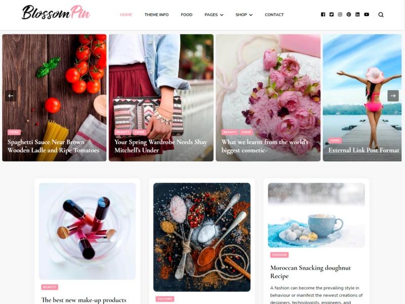 blossom pin template wordpress