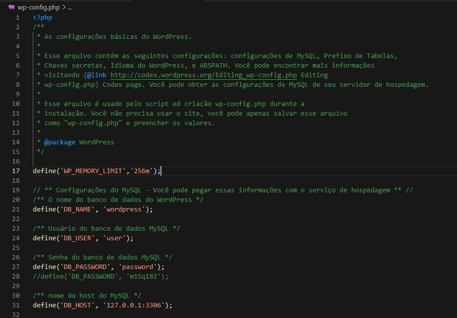 tela branca wordpress aumentar memoria php